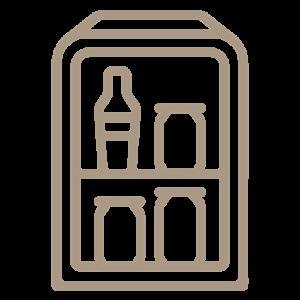 Mini-fridges in rooms